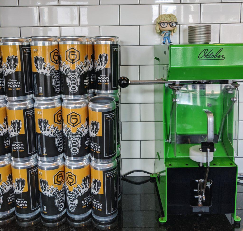Garth's Brew Bar Crowler Machine