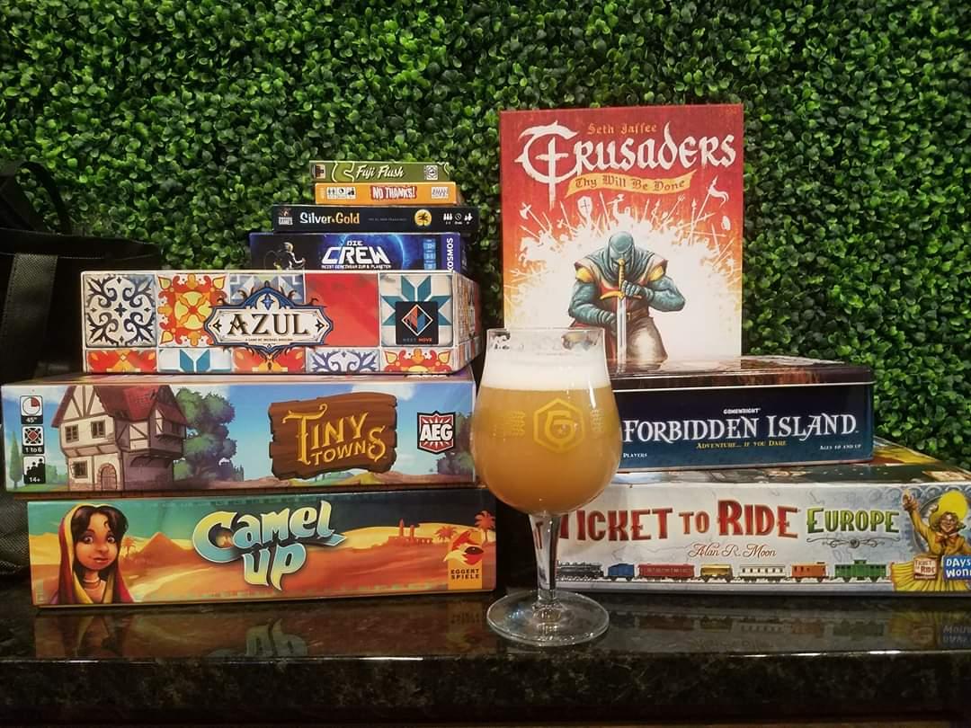 Board Games At Garth's Brew Bar