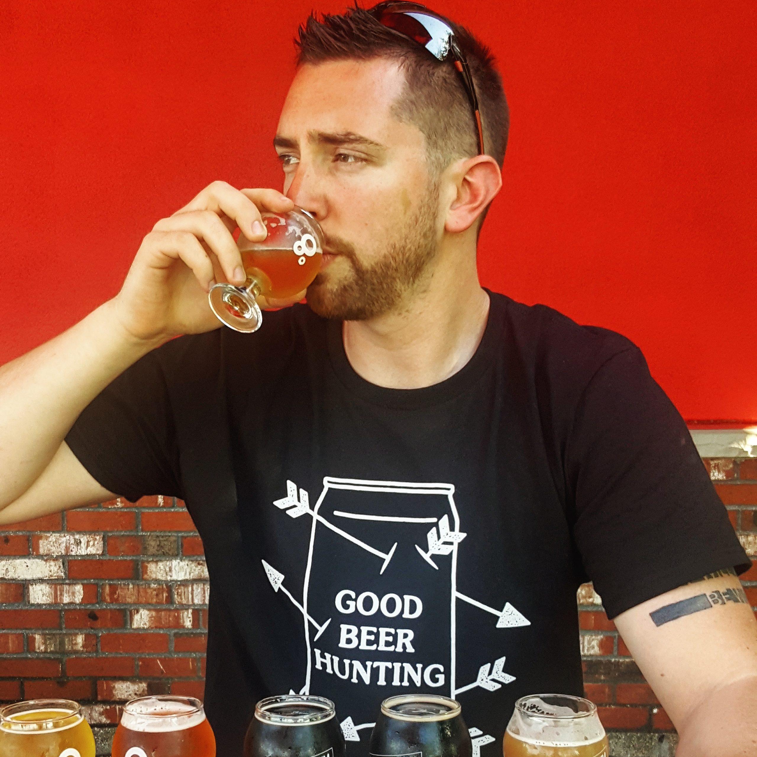 Garth Tasting Beer