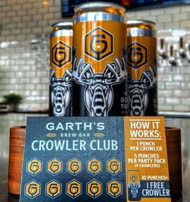 Garth's Brew Bar Crowler Club